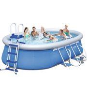 Best Swimming Pool for Garden Bestway 18 x 12 ft x 48-Inch Steel Pro Frame Pool Set