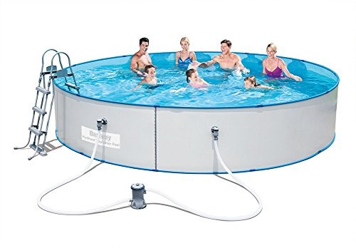 Best Swimming Pool for Garden Bestway Hydrium Splasher Swimming Pool Set, 15 feet