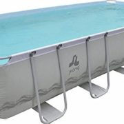 Best Swimming Pool for Garden Jilong Pool Rectangular with structure 540x274x122 cm grey