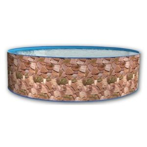 Best Swimming Pool for Garden Toi Rocalla Temporary Circular 3.5 m Steel Swimming Pool