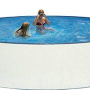 Best Swimming Pool for Garden Nuovo Steel Wall Pool Set Diameter 400x 90cm