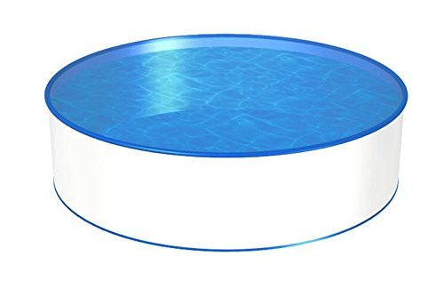 Best Swimming Pool for Garden Pool Round Shape Diameter 3,50m x 0,90m 0.4mm Film with Hanging Cord (0.4mm Steel Jacket