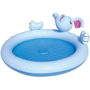 Best Swimming Pool for Garden Elephant Splash Play Pool (3-6 yrs) - Sprays water from the elephant's trunk when pushed