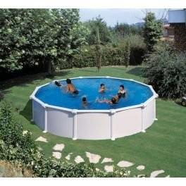 Best Swimming Pool for Garden gre-Sheet Pool Atlantis 350x 132cm + Purifier of Sand