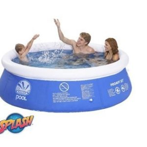 Best Swimming Pool for Garden Inflatable Pool 8ft - Outdoor Adult and Children Pool - Easy Setup - The ultimate summer accessory for your garden has arrived.