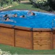 Best Swimming Pool for Garden Pool fuoriterra Mod. Hawaii Astralpool 640x 425x 132cm.