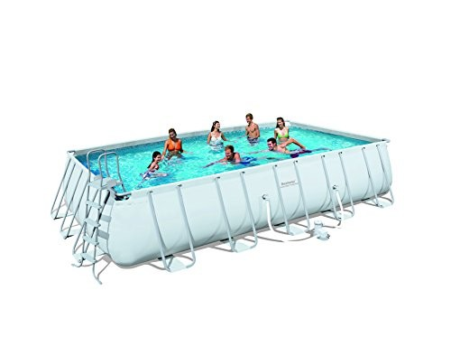 bestway frame pool power steel set best swimming pool for garden. Black Bedroom Furniture Sets. Home Design Ideas