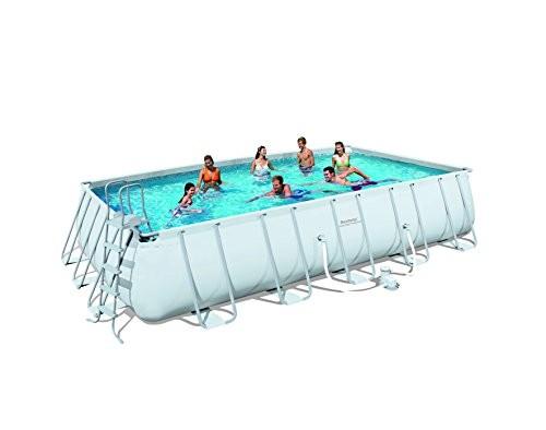 Bestway frame pool power steel set best swimming pool - Bestway power steel frame pool ...