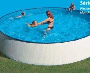 Best Swimming Pool for Garden gre kitpr4550e Round Pool-White Dim: Ø 450H 120