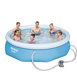Best Swimming Pool for Garden Bestway Inflatable Fast Set Swimming Pool with Pump - 9 feet