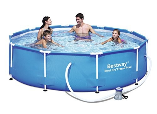 Best Swimming Pool for Garden Bestway 10 ft Steel Pro Frame Pool with 330 Gal Pump