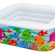 """Best Swimming Pool for Garden Swim Center Clearview Aquarium Pool, 62.5"""" x 62.5"""" x 19.5"""" by Intex [Toy]"""