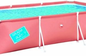 """Best Swimming Pool for Garden BESTWAY MY FIRST FRAME POOL 118"""" x 79"""" x 26"""""""