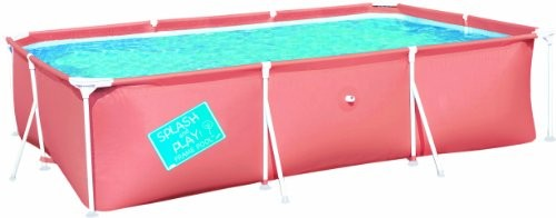 "Best Swimming Pool for Garden BESTWAY MY FIRST FRAME POOL 118"" x 79"" x 26"""