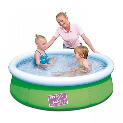 Best Swimming Pool for Garden Bestway My First Fast Set Inflatable Paddling Pool 5ft - Green