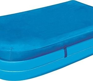 """Best Swimming Pool for Garden BESTWAY RECTANGULAR SWIMMING PADDLING POOL COVER 305 x 183CM 120"""" x 72"""" BW58108"""