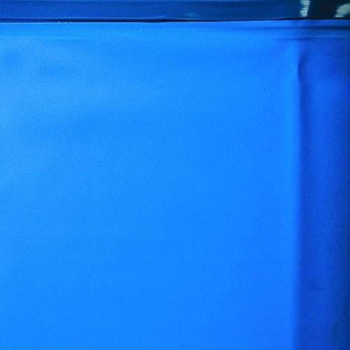 Gre oval swimming pool 500 x 300 x 120 cm imitation wood for Swimming pool 120 cm tief