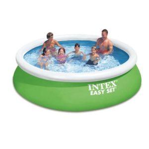 Best Swimming Pool for Garden Intex Easy Set Swimming Pool Kit 6200L 366x 366x 84cm Green