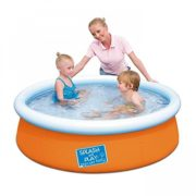 Best Swimming Pool for Garden Bestway My First Fast Set Inflatable Paddling Pool 5ft - Orange