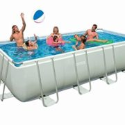 Best Swimming Pool for Garden Intex 54482 Ultra Frame Pool 549 CM x 274 CM x 132 CM