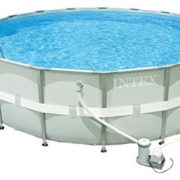 Best Swimming Pool for Garden Intex Ultra Frame Pool Set Diameter 488 x 48 with Filter Pump