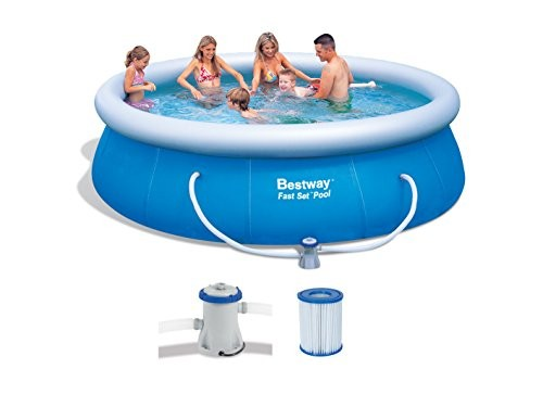 Bestway 57166gs Fast Pool Set With Filter Pump Gs 366 X 91 Cm Best Swimming Pool For Garden