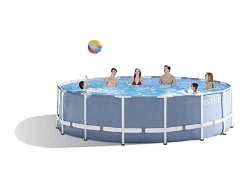 pool 457x122 günstig intex 28736 prism frame pool 457x122 cm complete set