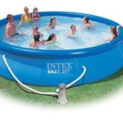 intex ramme pool familie