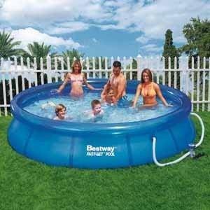 Best Swimming Pool for Garden Ground Round Inflatable Swimming Pool Bestway 57112