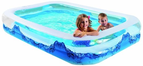 Wehncke water wave 12242 jumbo pool with 2 bulged areas for Pool garden outlet