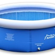 Best Swimming Pool for Garden Andes 8ft Inflatable Above Ground Family Outdoor Garden Swimming/Paddling Pool