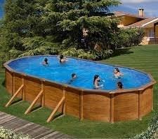 Best Swimming Pool for Garden San Marina Pools-Chapa Galapagos Swimming Pool Kit 610x 375x 120cm
