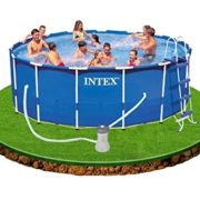 Best Swimming Pool for Garden Intex Steel Metal Frame Steel Frame Pool 457 x 122 CM