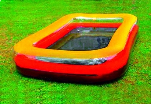 Best Swimming Pool for Garden SPLASH & FUN Family Pool L 240 x W 162 x H 44 cm, measurements give up (0013697)