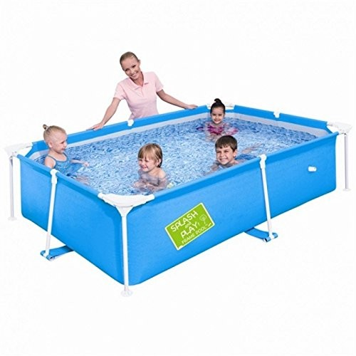 """Best Swimming Pool for Garden Bestway My First Frame Pool 64"""" x 64"""" x 14"""" - 56218"""