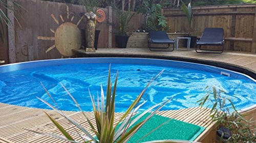 Free Standing Above Ground Swimming Pools: Zizy Pools Amazing Above Ground Steel Free-Standing