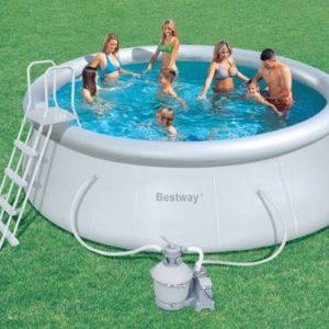 Best Swimming Pool for Garden Ground pool Bestway Fast September round 457x122 cm