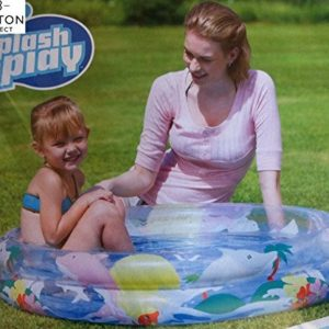Best Swimming Pool for Garden Easily inflatable round 3 ring dolphin design pool 36 x 8 inches