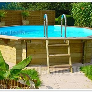 Best Swimming Pool for Garden Wooden pool TROPIC 505