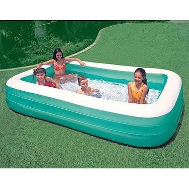 Intex swim center family pool best swimming pool for garden for Intex gartenpool