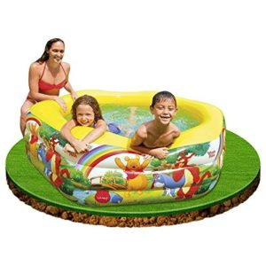 """Best Swimming Pool for Garden Disney Deluxe Pool Winnie The Pooh 75"""" x 70"""" x 24"""" by Intex"""