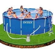 Best Swimming Pool for Garden intex Swimming Pool Round tubular metal frame 4.57 x 1.22 m - 54946FR