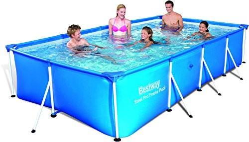 Bestway Family Splash Frame Pool 157x83x32 Best Swimming Pool For Garden