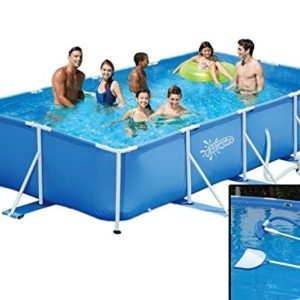 Best Swimming Pool for Garden Summer Escapes Frame Pool 427X244X91 CM Frame Swimming Pool Cleaning Set