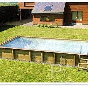 Best Swimming Pool for Garden Wooden pool JARDIN CARRE 6x4