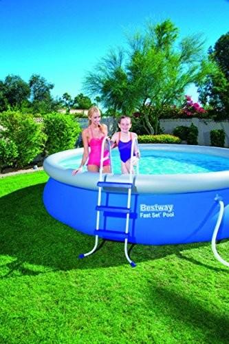 Bestway Steel Pro 4 27m X 84cm Blue Above Ground Pools