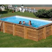 Best Swimming Pool for Garden gre Rectangular Frame Pool Braga: 352 cm 763X352X142 cm, 7 Pieces, 763 cm H 56 cm