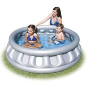 "Best Swimming Pool for Garden BESTWAY SPACE SHIP INFLATABLE PADDLING POOL (62"" x 62"" x 16"")BW51080"