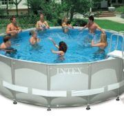 Best Swimming Pool for Garden Intex Above Ground 16ft X 48in Ultra Frame Swimming Pool Set