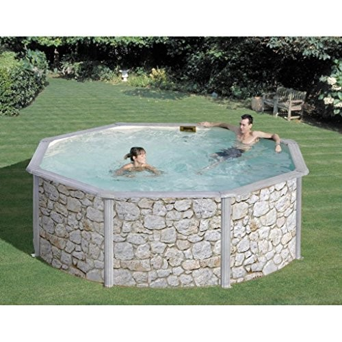 san marina pools rundes schwimmbad auf der erde best swimming pool for garden. Black Bedroom Furniture Sets. Home Design Ideas